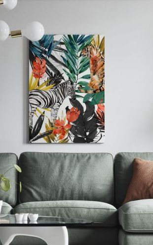 【Canvas Print】PHOTOWALL / Jungle Life (e321415)