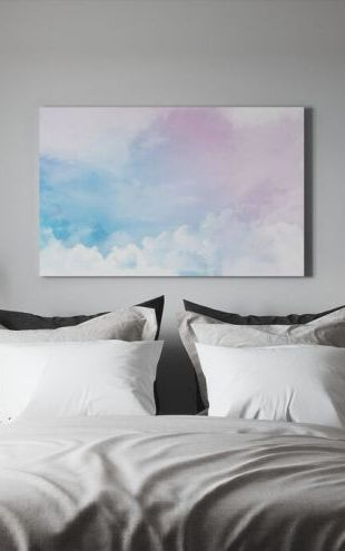 【Canvas Print】PHOTOWALL / Multicolored Clouds (e327884)