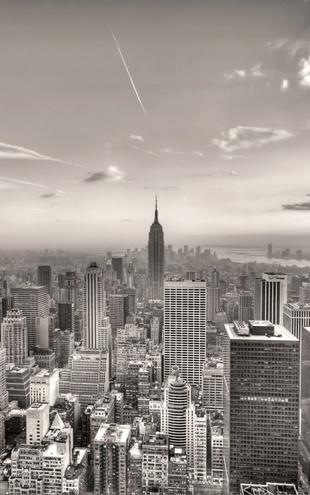 PHOTOWALL / New York City 2 - Sepia (e1584)