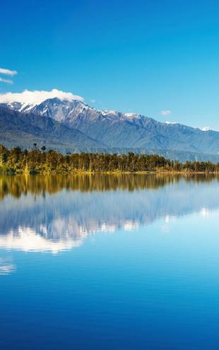 PHOTOWALL / Beautiful lake, New Zealand (e19164)