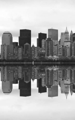 PHOTOWALL / Manhattan b/w (e2082)