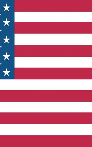 PHOTOWALL / Flag of United States (e6262)