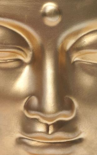 PHOTOWALL / Golden Buddha Close Up (e6417)