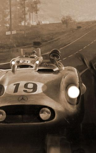 PHOTOWALL / Le Mans - Sepia (e12026)