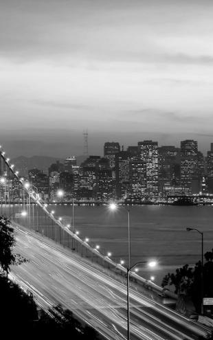 PHOTOWALL / San Francisco - b/w (e10089)