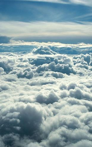 PHOTOWALL / Above Clouds (e1409)
