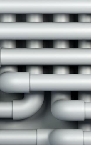 PHOTOWALL / Drain Pipes (e1457)