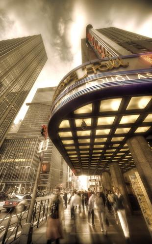 PHOTOWALL / Radio City Hall - Manhattan (e1789)