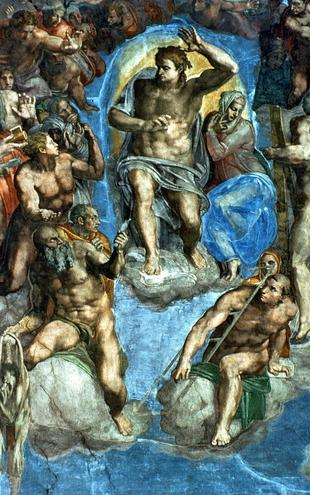 PHOTOWALL / Buonarroti,Michelangelo - Last Judgement (e2096)