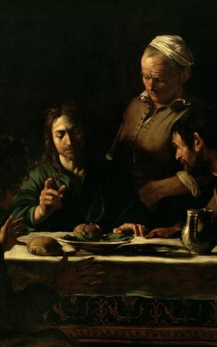 PHOTOWALL / Caravaggio,Michelangelo - Supper at Emmaus (e2100)