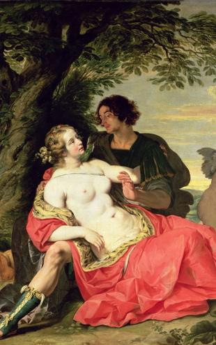 PHOTOWALL / Janssens,A - Venus and Adonis (e2104)
