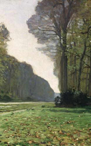 PHOTOWALL / Monet,Claude - Fontainebleau (e2108)