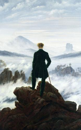 PHOTOWALL / Friedrich,Caspar - Wanderer above the Sea of Fog (e2115)