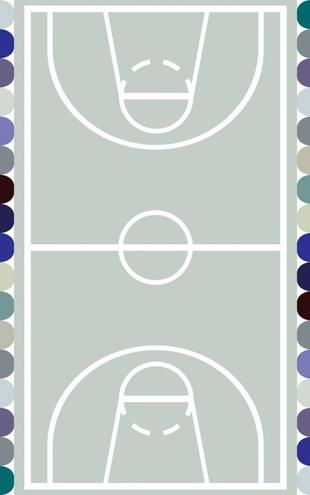 PHOTOWALL / Basketball (e19395)