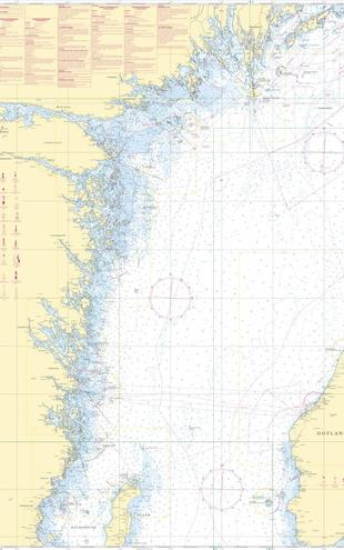 PHOTOWALL / Sea Chart 72 - Oland - Landsort (e20205)