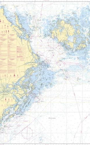 PHOTOWALL / Sea Chart 61 - Landsort - Alands Hav (e20206)