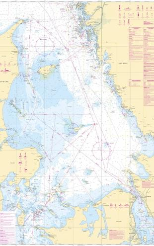 PHOTOWALL / Sea Chart 92 - Kattegatt (e20208)