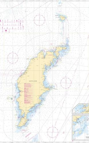 PHOTOWALL / Sea Chart 73 - Gotland (e20209)