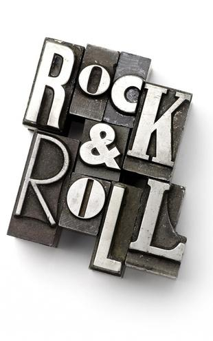 PHOTOWALL / Rock and Roll Lead Types (e20303)