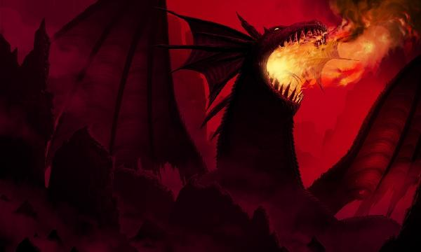 PHOTOWALL / Dragon in Red (e20373)
