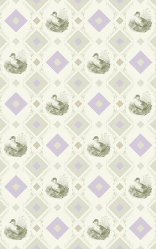 PHOTOWALL / Duckling - Gooseframe - Green - Purple (e20499)