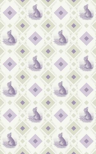 PHOTOWALL / Rabbit - Gooseframe - Green Purple (e20524)