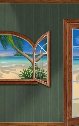 PHOTOWALL / Room with a View of Paradise (e20878)