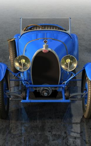 PHOTOWALL / Bugatti Type 43 Front_1927 (e20921)