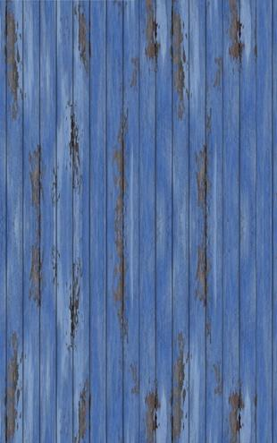 PHOTOWALL / Blue Vintage Wood Wall (e20941)