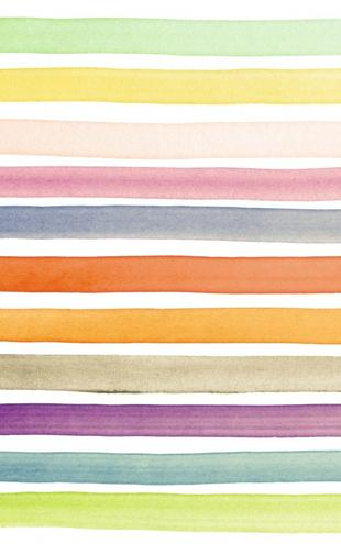 PHOTOWALL / Watercolor Stripes (e21041)