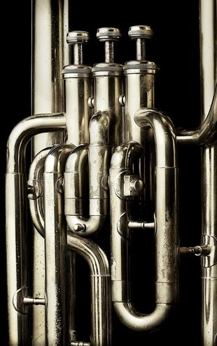 PHOTOWALL / Brass Horn - Tuba (e21333)