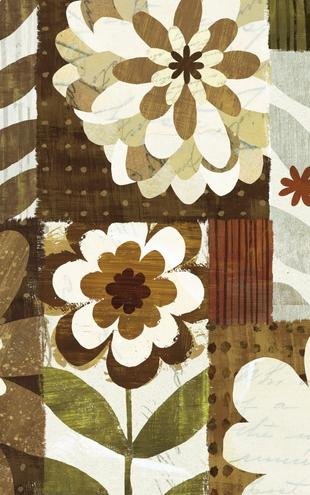 PHOTOWALL / Happy Daisy Patchwork (e21565)