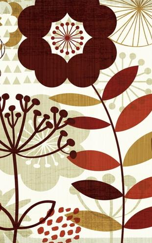 PHOTOWALL / Floral Pop I (e21584)