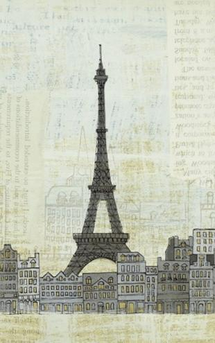 PHOTOWALL / Avery Tillmon - Eiffel Skyline (e22219)