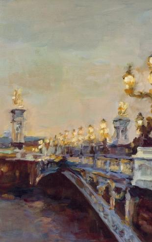 PHOTOWALL / Marilyn Hageman - Parisian Evening (e22254)