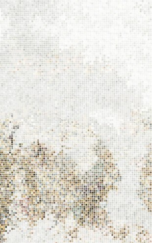 PHOTOWALL / Mosaic Forest - Golden (e21513)