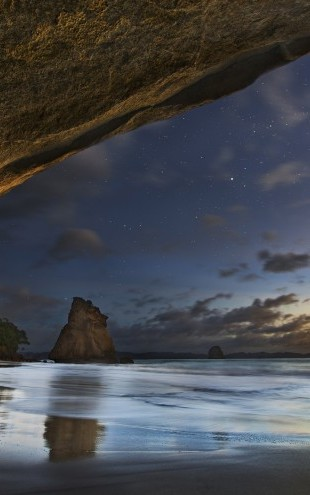 PHOTOWALL / Cathedral Cove (e22408)