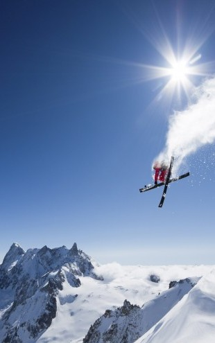 PHOTOWALL / Extreme Skiing (e22504)
