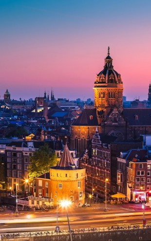 PHOTOWALL / Amsterdam Skyline (e22814)