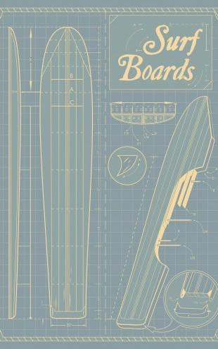 PHOTOWALL / Surf Boards (e22965)