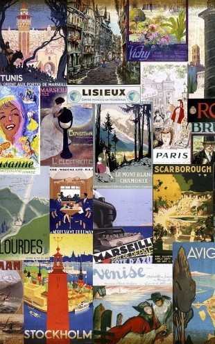 PHOTOWALL / European Cities Collage (e22980)
