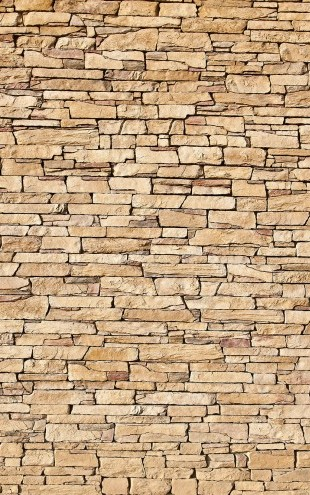 PHOTOWALL / Lime Stone wall (e23176)