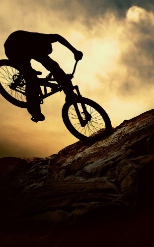 PHOTOWALL / Mountain Bike Rider (e23210)