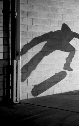 PHOTOWALL / Shadow Skateboarder (e23212)