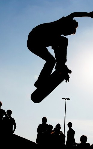 PHOTOWALL / Skateboard Jump (e23213)