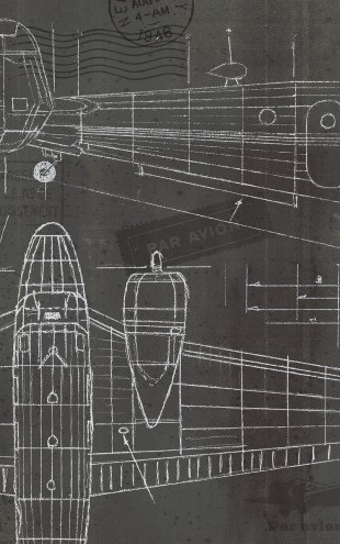 PHOTOWALL / Plane Blueprint 2 (e23411)
