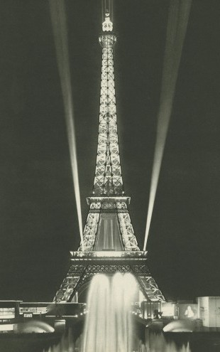 PHOTOWALL / Eiffel Tower Lights (e23432)