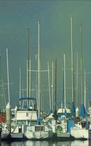 PHOTOWALL / Harbor Boats (e23459)