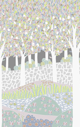 PHOTOWALL / Bird Forest XL (e23676)