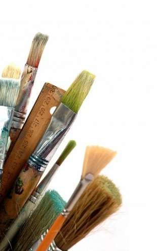 PHOTOWALL / Paint Brushes (e40160)
